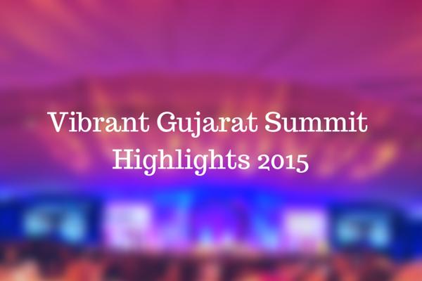 Vibrant Gujrat SummitHighlights