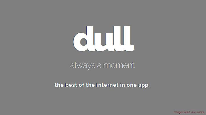 dull mobile app