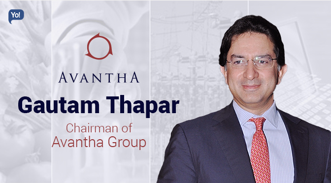 "gautam thapar Of its stake in crompton greaves' consumer business,"" said gautam thapar,  founder and chairman of the avantha group ""both advent and."