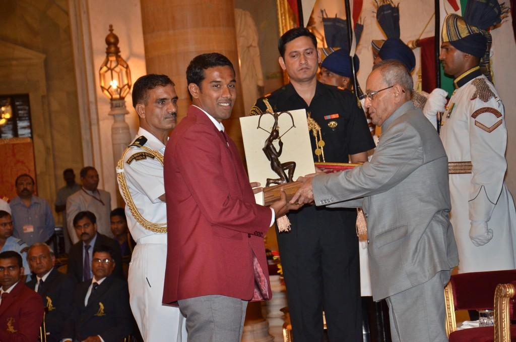 Sharath Gayakwad - Arjuna awardee