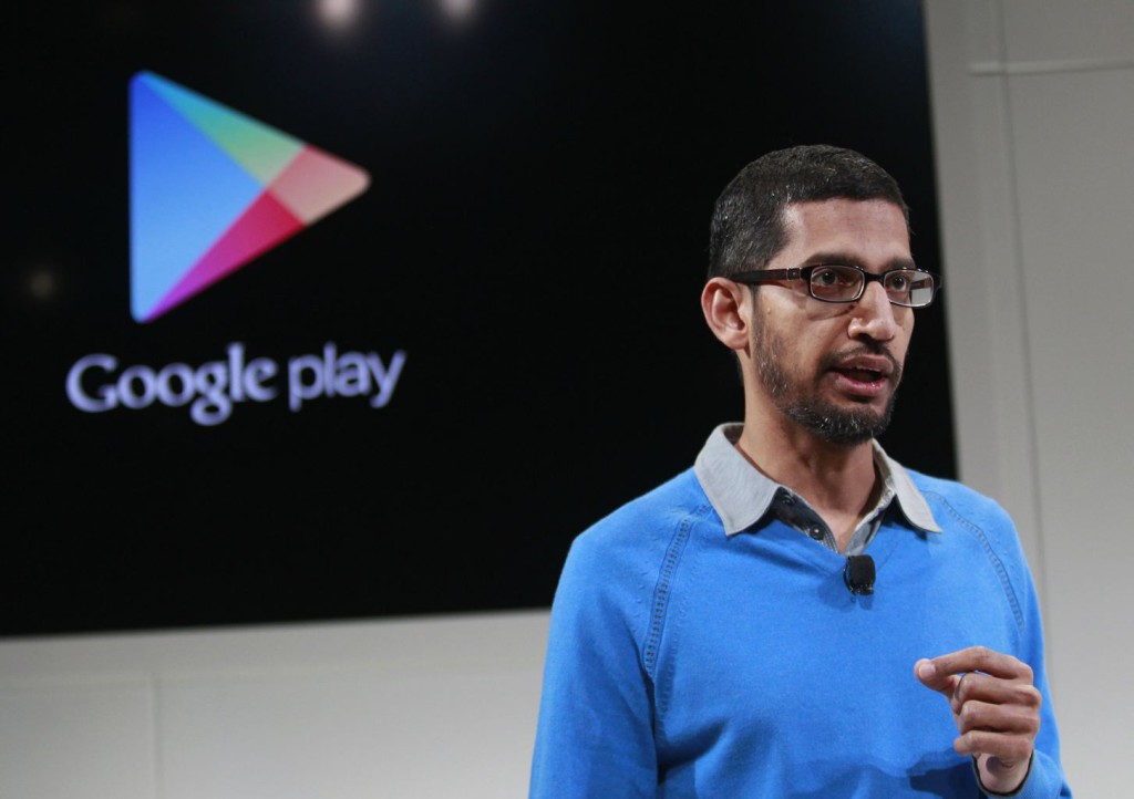 Sundar-Pichai-google-play