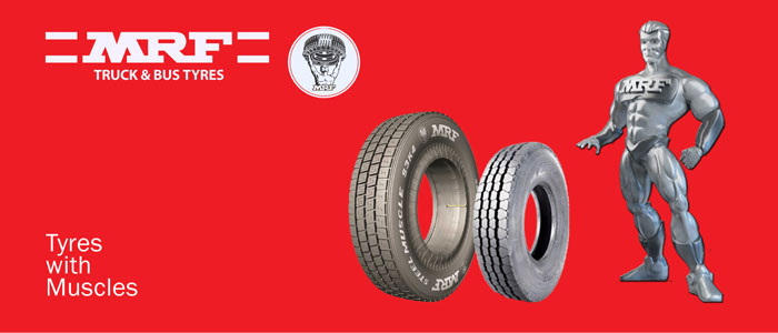 MRF Tyres muscle man