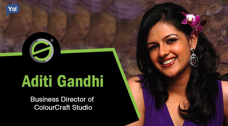 Interview With :   Aditi Gandhi, Business Director at ColourCraft Studio