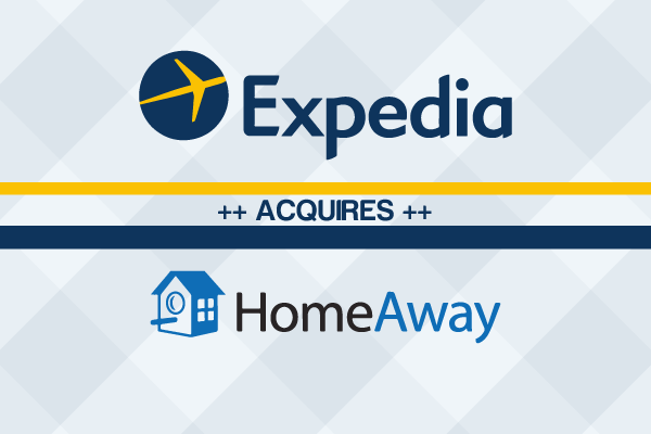 HOMEAWAY ACQUIRED BY EXPEDIA