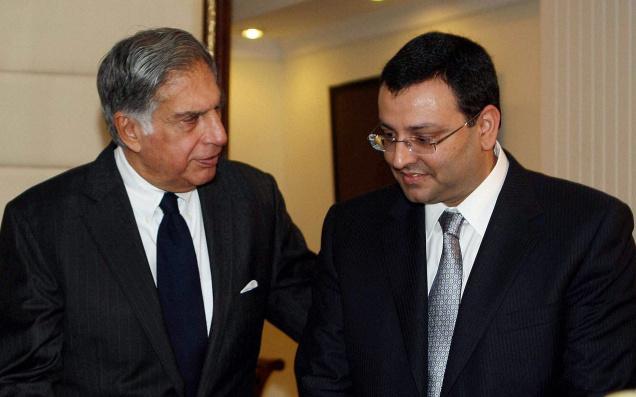 Ratan Tata & Cyrus Mistry