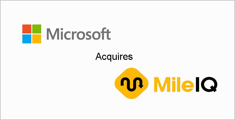 Microsoft acquires mobile data labs