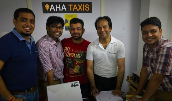 Aha TAxix Team Image