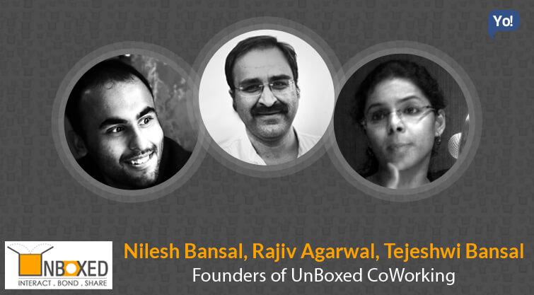 Rajiv, Nilesh and Tejeshwi