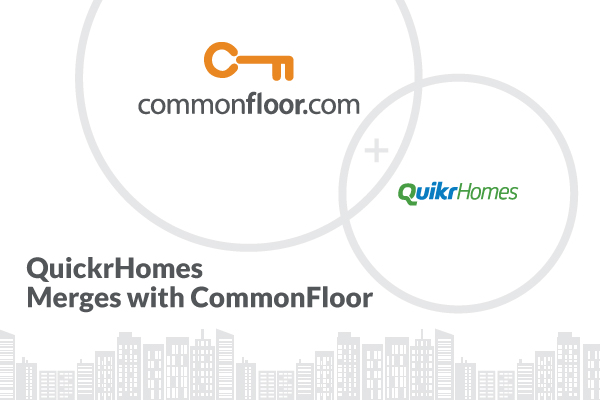 QuikrHomes Merges with CommonFloor