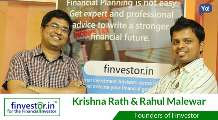 Interview With :   Krishna & Rahul, Founders of Finvestor