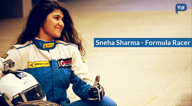 Interview With :   Sneha Sharma, Formula Racer