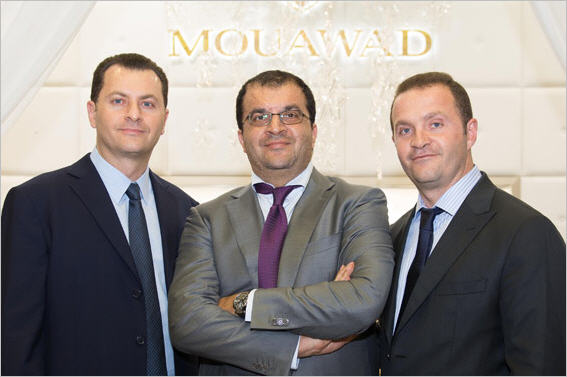 Fred, Alain and Pascal Mouawad