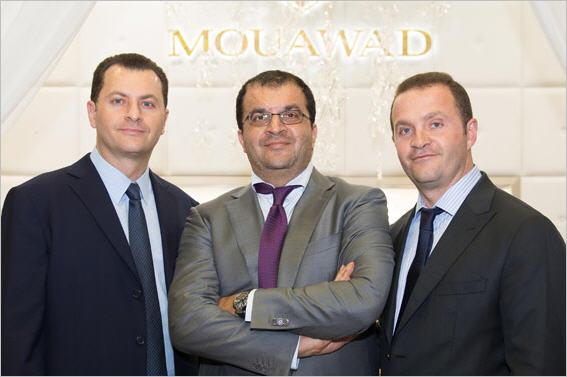 Fred, Alain and Pascal Mouawad