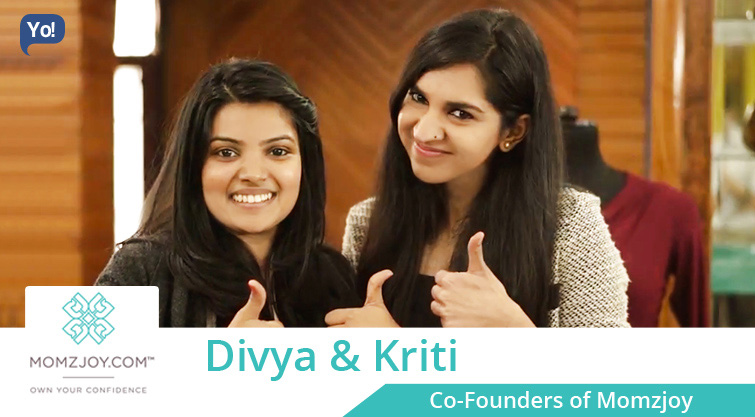 Interview With :   Kriti Baveja and Divya Gupta, Co-Founders of Momzjoy