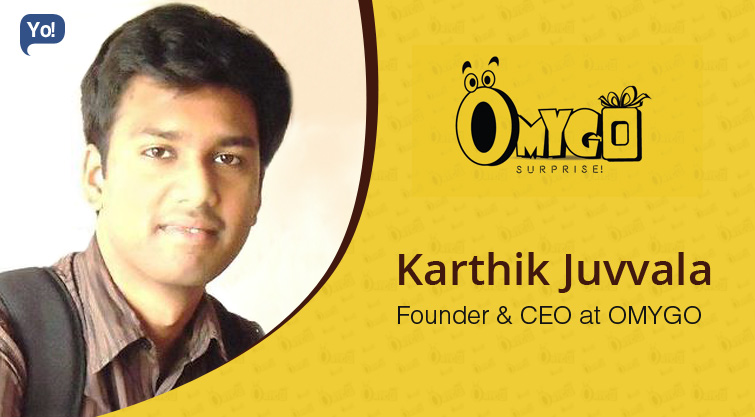 Interview With :   Karthik Juvvala, Founder & CEO at OMYGO