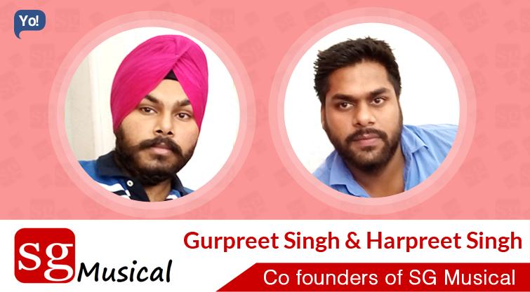 Interview With :   Gurpreet Singh & Harpreet Singh, Founders of SG Musical