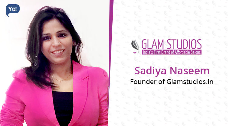 Interview With :   Sadiya Naseem, Founder of Glamstudios.in