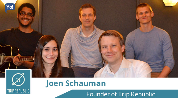 Interview With :   Joen Schauman, Founder of Trip Republic