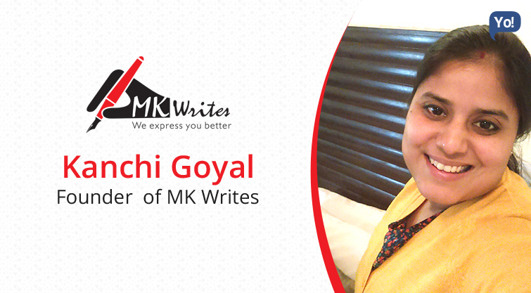Interview With :    Kanchi Goyal, Founder of MK Writes